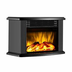 """DONYER POWER 14"""" Mini Electric Fireplace Tabletop Portable H"""