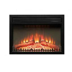 1400W Adjustable Electric Wall Insert Fireplace Heater Flame