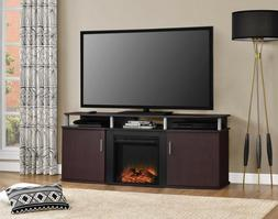 Ameriwood Home 1766396COM Carson Electric Fireplace TV Conso