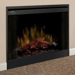 Dimplex - 33-Inch Built-In Slim Line Electric Fireplace - In