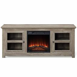 """58"""" TV Stand Console For TV's Up to 65"""" W/ Electric Fireplac"""