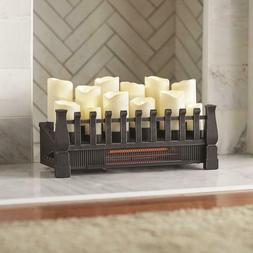 "Home Decorators 97029 Brindle Flame 20"" Candle Electric Fire"
