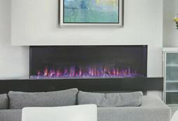 """ALL NEW Napoleon Trivista 50"""" Three-Sided Electric Fireplace"""