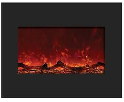 Amantii Zero Clearance Series Built-In Electric Fireplace, 2