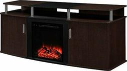 Ameriwood Home Carson Electric Fireplace TV Console for TVs