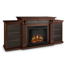 Real Flame Ashley Ent Center Electric Fireplace Dark Espress