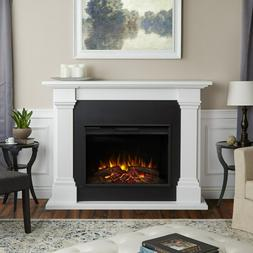 Callaway Grand Electric Fireplace - White