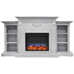 Cambridge CAM7233-1WHTLED Sanoma 72 in. Electric Fireplace i