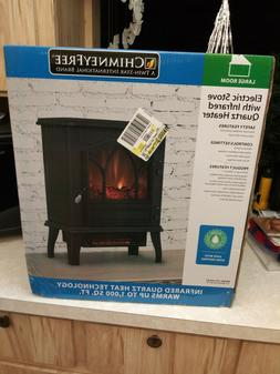 CHIMNEY FREE TWIN STAR INTERNATIONAL ELECTRIC STOVE WITH INF