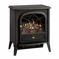 Compact Matte Black Freestanding Electric Stove - 20 inch