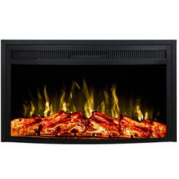 "Regal Flame 33"" Curved Ventless Heater Electric Fireplace In"