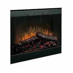 Dimplex Deluxe Electric Fireplace Insert with Trim Kit, 45-I