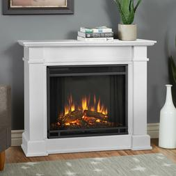 Real Flame Devin Electric Fireplace- White - 1220E-W NEW