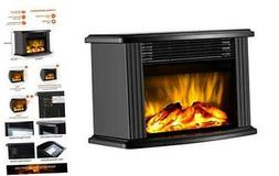 "DONYER POWER 14"" Mini Electric Fireplace Tabletop Portable H"