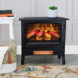 Duraflame Infragen Electric Stove Heater with 3D Flame Effec