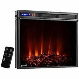 """E-Flame USA Whistler 28""""x24"""" LED Electric Fireplace Stove In"""