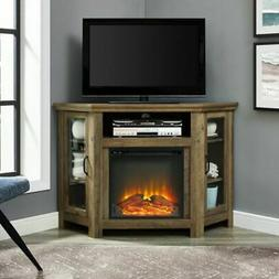 """Electric Fireplace Corner TV Stand Media Console up to 55"""" T"""