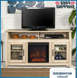 "Electric Fireplace Heater 70"" TV Stand Entertainment Media C"