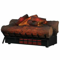 Electric Fireplace Logs Heater Living Room Fire Real Flame A