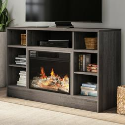 electric fireplace tv stand for tvs up