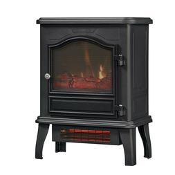 fire place space heater free standing portable remote realis