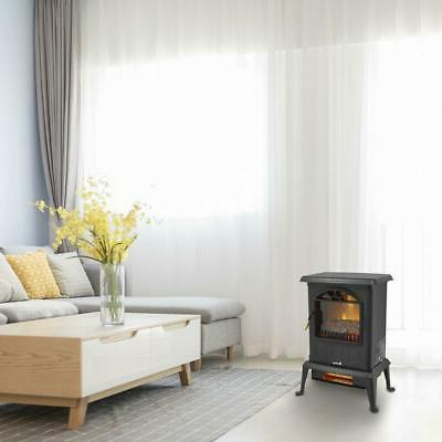1500W Infrared Heater Control Fire Flame 2020