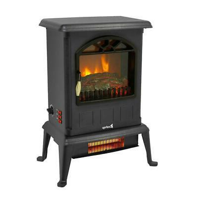 1500W Electric Fireplace Heater Control Flame Stove 2020