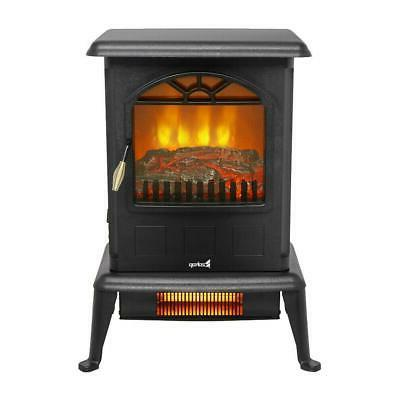 1500W Fireplace Heater Fire Flame Stove 2020
