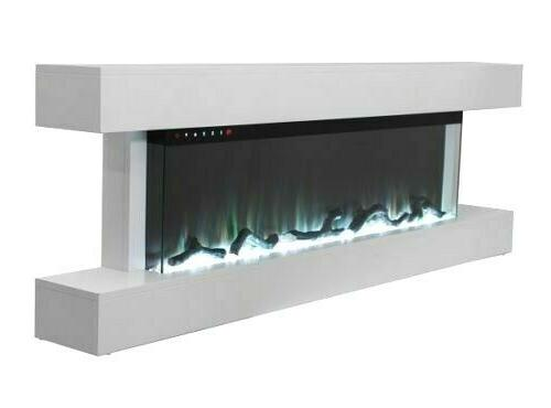 55 MANTEL WALL ELECTRIC FIRE 3 NEW