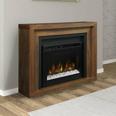 Dimplex Mantel Fireplace with Ember Bed