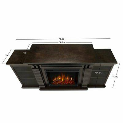 Stand with Electric Fireplace in