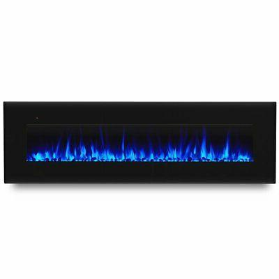 """Real Flame Corretto 72"""" Wall Electric in"""