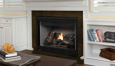 drt4040 direct vent gas fireplace w electric