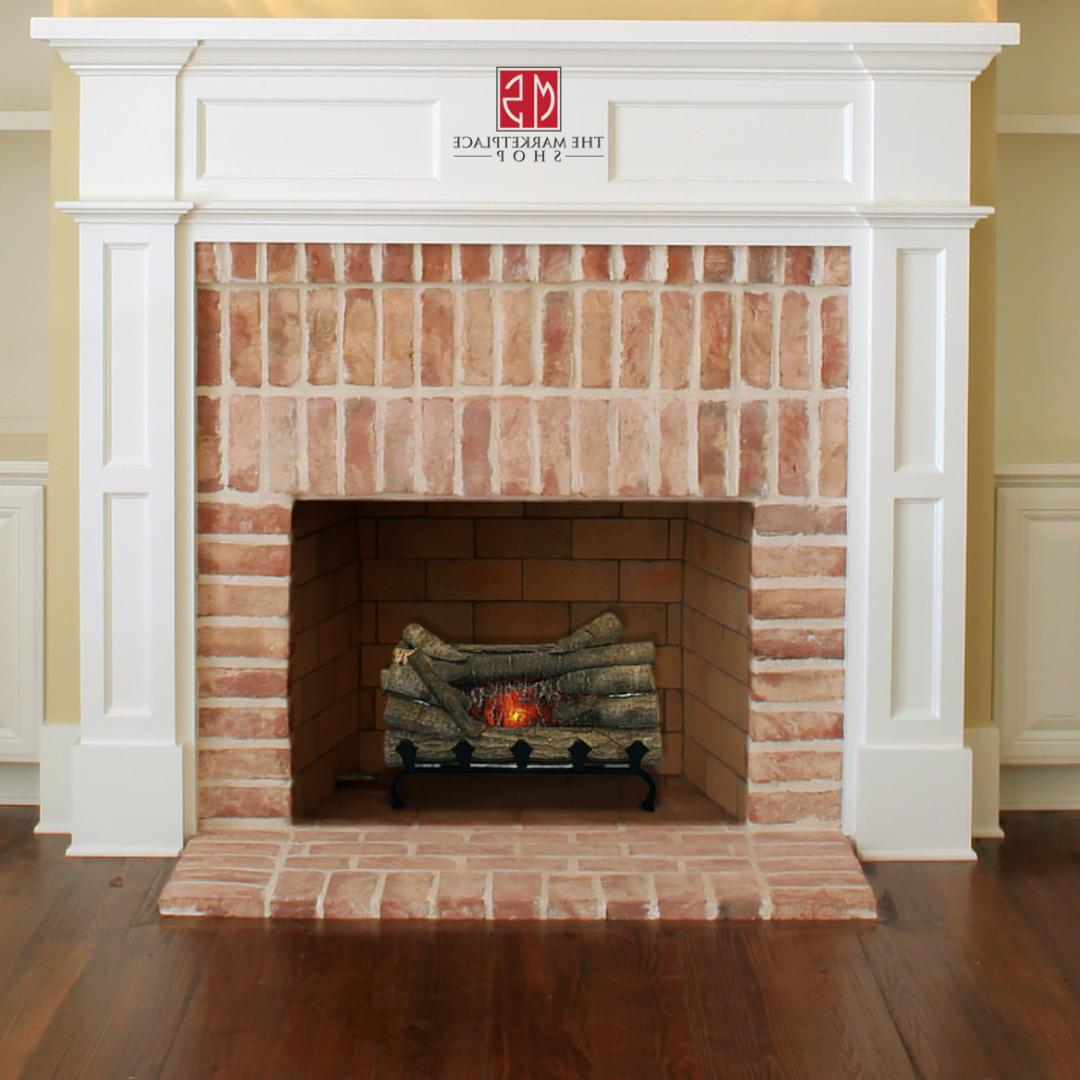 Electric Fireplace Logs With Burning