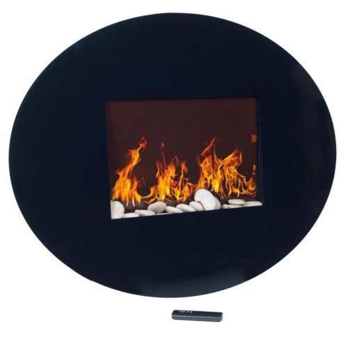 Electric Mount Oval Effect Heater