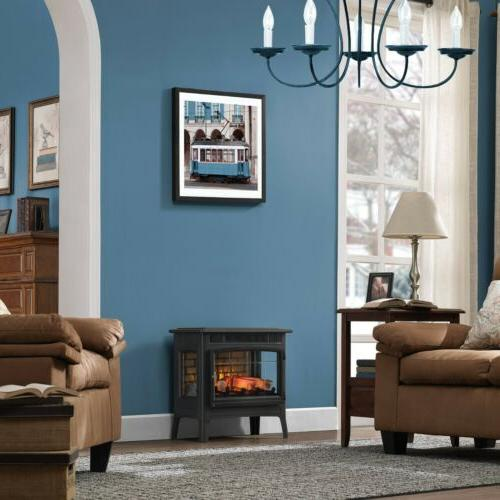 Duraflame Fireplace Stove with 3D Flame Effect,