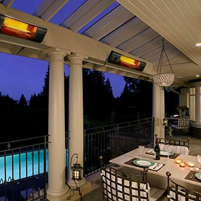 Electric Heater With Outdoor LCD Display