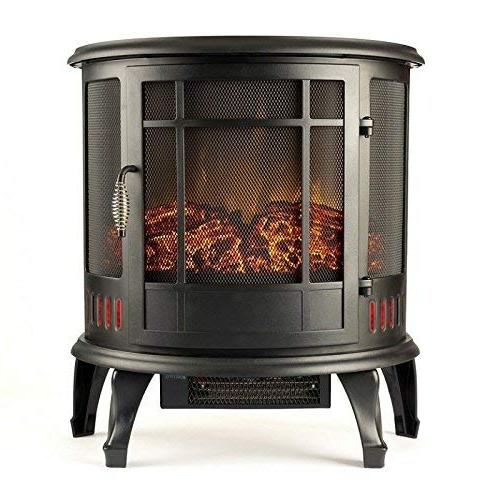 heater vent curved electric fireplace