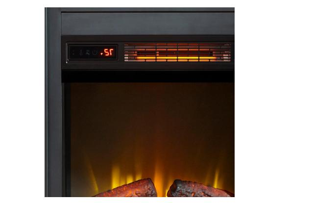 Home Decorators Collection Fireplace Wall Mantel Dark