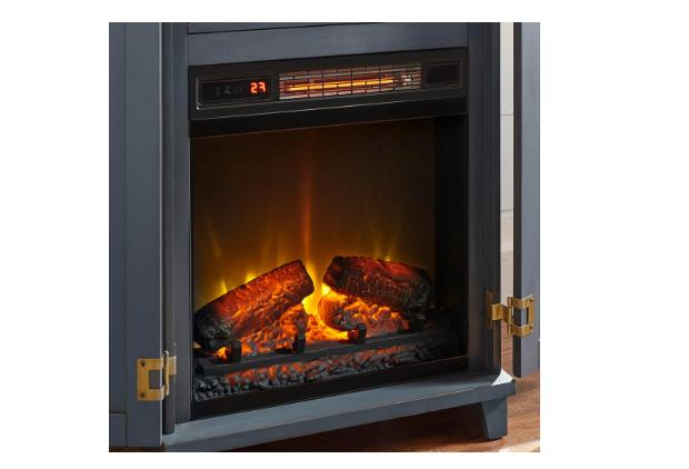 Home Decorators Collection Electric Fireplace Freestanding Dark