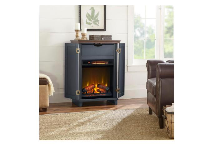 home decorators collection electric fireplace freestanding w