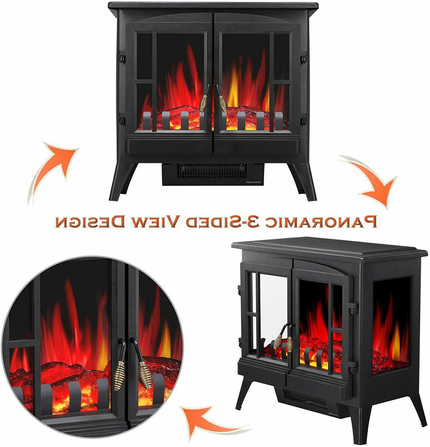 """Infrared 23"""" Fireplectric Stove"""