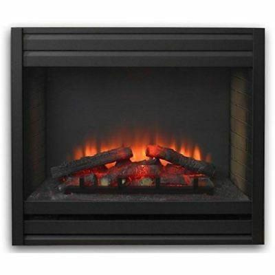 louver electric fireplace front