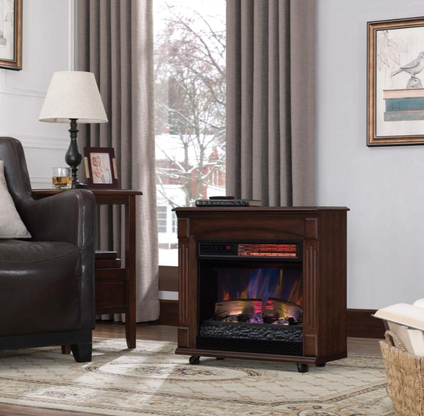Mantel Infrared Fireplace Flame