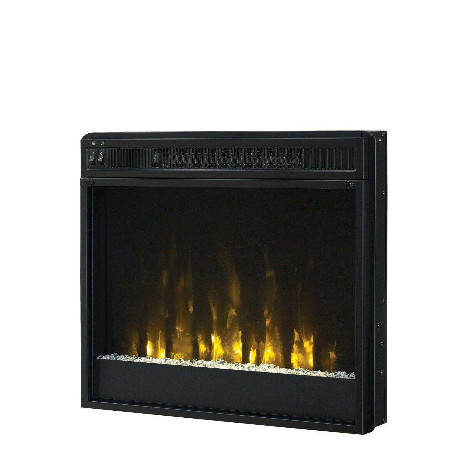 modern 23 inch electric fireplace insert by