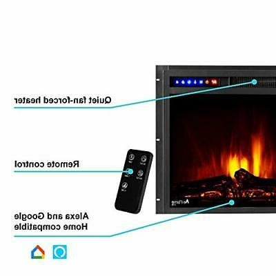 Montana Fireplace Remote - Logs and