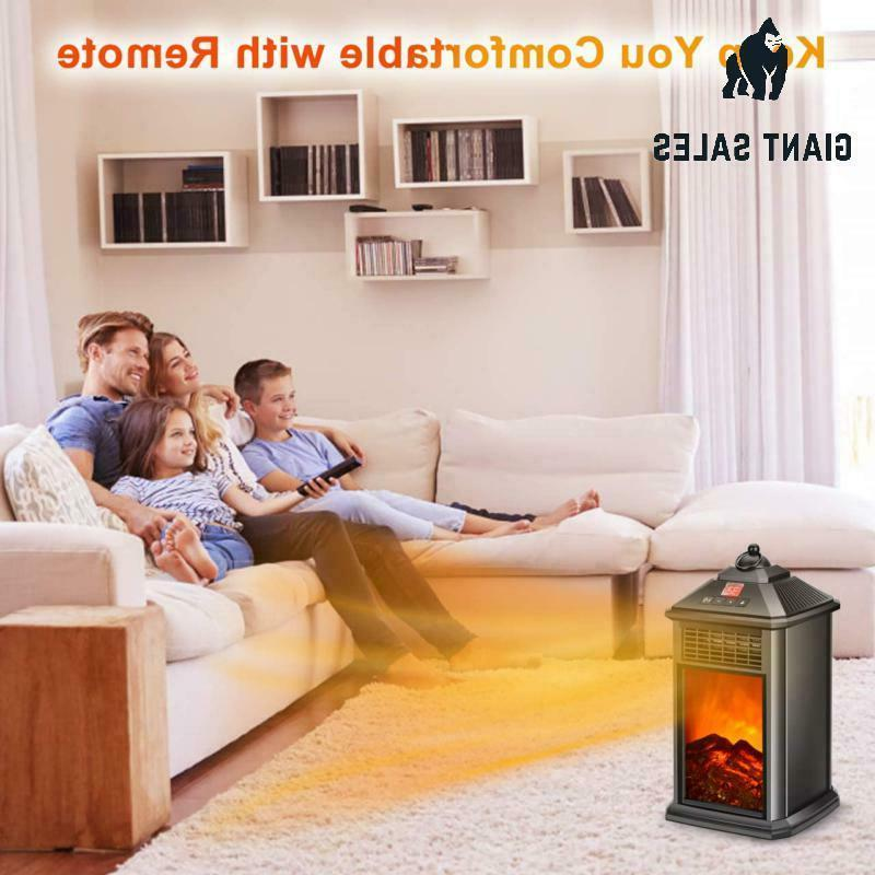 Portable Heater Fireplace Heater, Space Fireplace