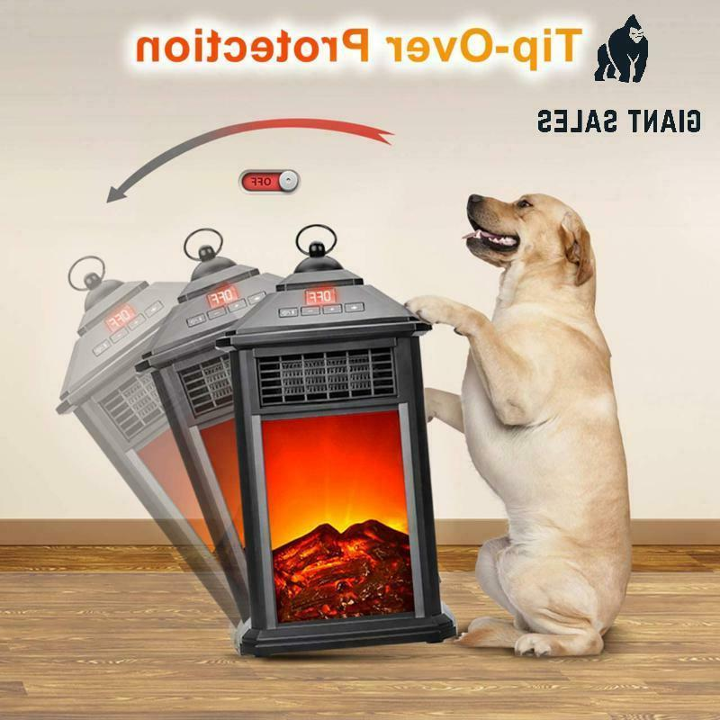 Portable Heater - Electric Fireplace Fireplace 800W
