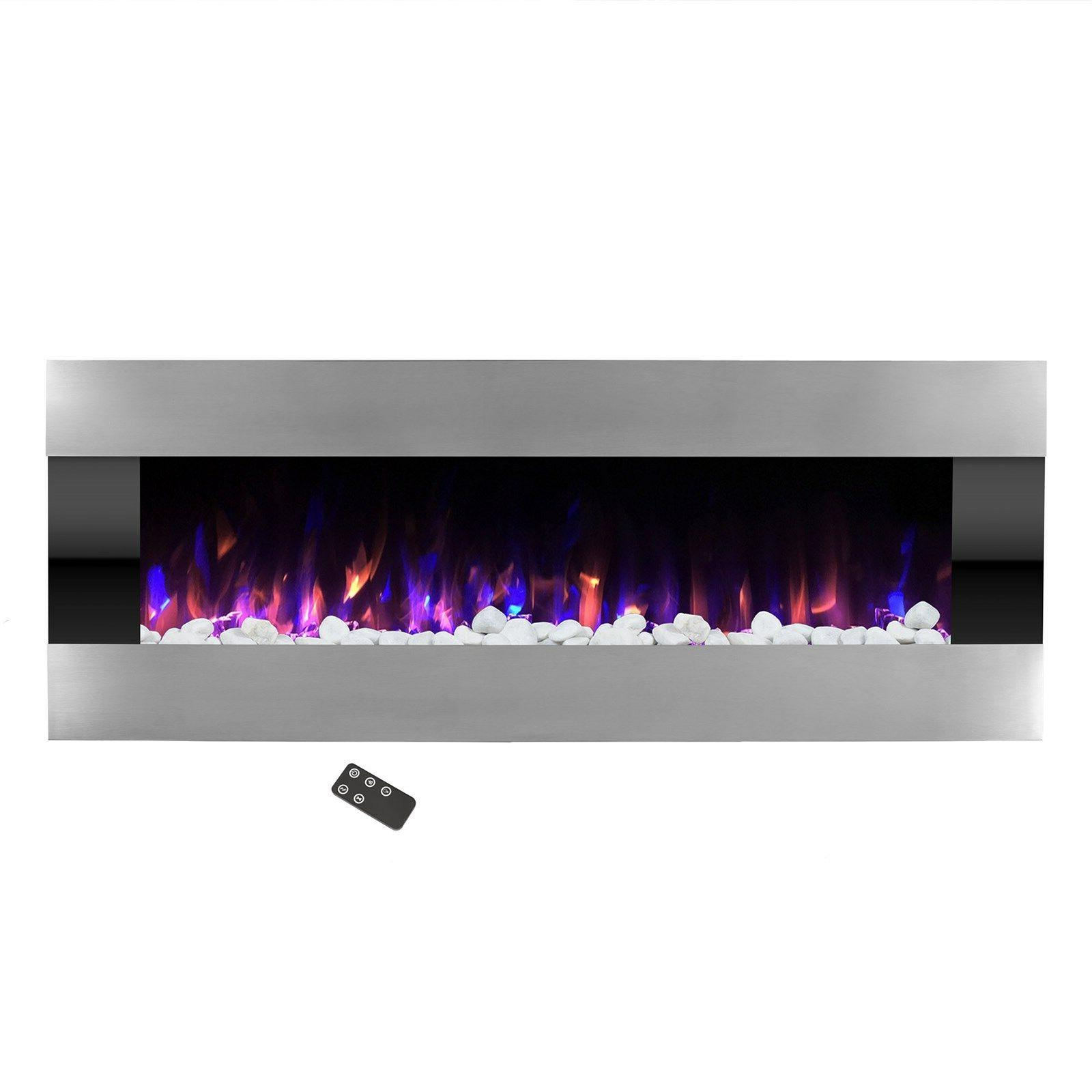 Stainless with Wall Mount Remote Fire and