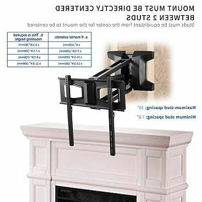 VIVO Steel Electric TV Above Fireplace Mount for to Screens